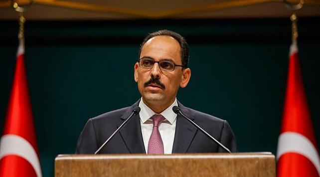 Cumhurbaşkanlığı Sözcüsü Kalın: Suruç saldırısının failleri adalet önüne çıkartılacaktır