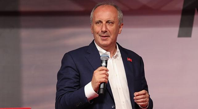 CHP Cumhurbaşkanı adayı Muharrem İnceden bayram mesajı