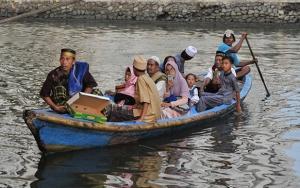Endonezyada Ramazan Bayramı