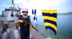 Bahriyelilerin bayramı Karadenizde nöbet tutarak geçiyor