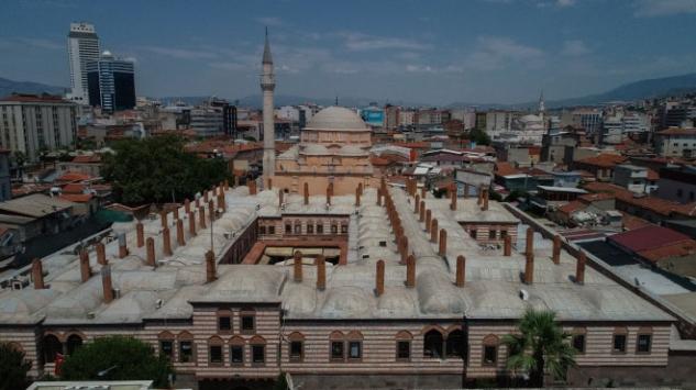 Tarihi Hisar Camii depreme karşı güçlendirilecek