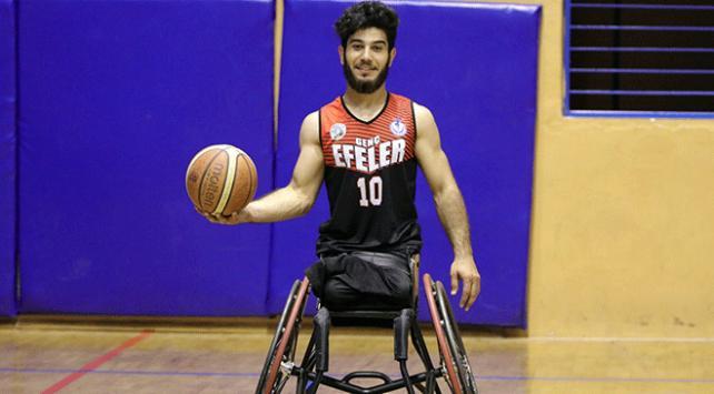 Doğuştan bedensel engelli genç sporla hayata tutundu
