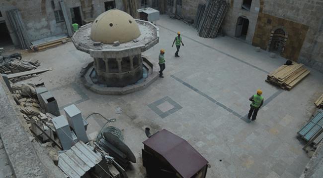 Babdaki tarihi cami ve çarşı Türkiyenin desteğiyle restore ediliyor