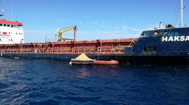 Hırvatistandaki Türk gemisinin batma tehlikesi bulunmuyor