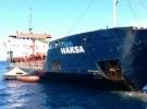 Hırvatistan'da su alan Türk gemisi kurtarıldı