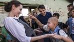 BM İyi Niyet Elçisi Angelina Jolieden Iraklı göçmenlere yardım çağrısı