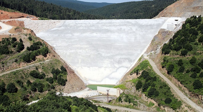 Akçay Barajında yılda 45 milyon kilovat enerji üretilecek