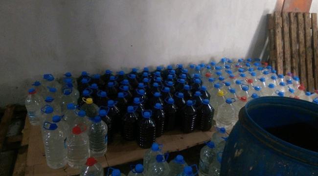 Adanada sahte içki imalathanelerine operasyon
