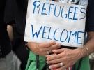 Fransa'da mültecilere destek yürüyüşü yapıldı