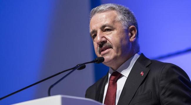Ulaştırma, Denizcilik ve Haberleşme Bakanı Arslan: 80 yıllık unutulmuşluk mega projelerle ortadan kalktı