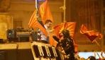 Makedonyada ismimizi vermeyiz protestosu