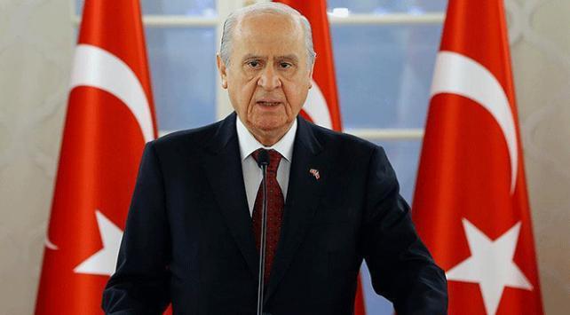 MHP Genel Başkanı Bahçeliden Münbiç görevine destek