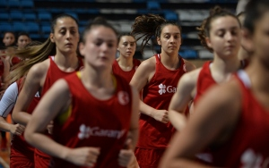 Potada genç kızların hedefi Avrupada başarı