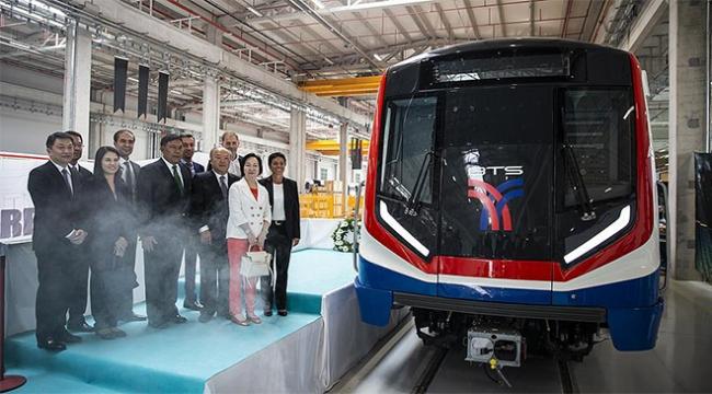 Türkiyenin ilk metro aracı ihracatı Taylanda gerçekleşti