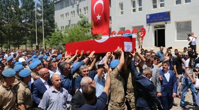 Şehit Onbaşı Bahattin Baştan için Siirtte askeri tören düzenlendi