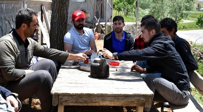 Teröristlerden temizlenen köylerinde huzurlu yaşıyorlar