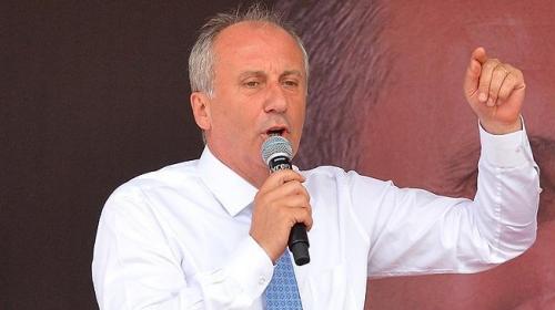 CHP Cumhurbaşkanı Adayı İnce TRTyi hedef gösterdi