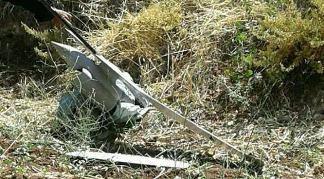 İsraile ait İHA Suriye sınırında düştü