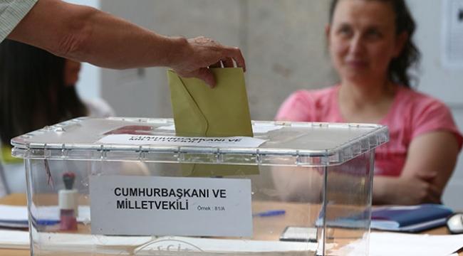 Yurt dışında oy kullanma işlemi sona erdi