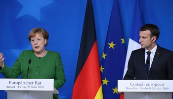 Merkel ve Macrondan AB için ortak girişim
