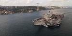 """""""Pionering Spirit"""" gemisi İstanbul Boğazından geçti"""