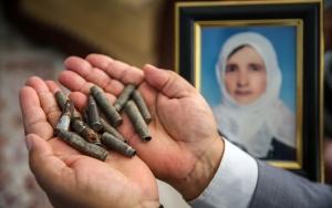 Katliamı unutmamak için mermi kovanlarını 25 yıldır saklıyor
