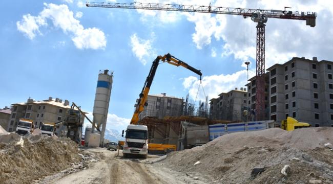 Terörden zarar gören bölgeler yeniden inşa ediliyor