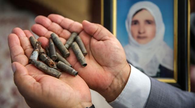 PKK katliamını unutmamak için 25 yıldır mermi kovanlarını saklıyor