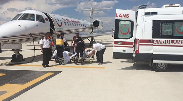Uçak ambulans sayısı 4e çıktı