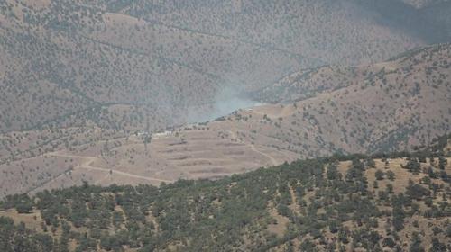 TSK bombaladı PKK karargahlarını terk etti