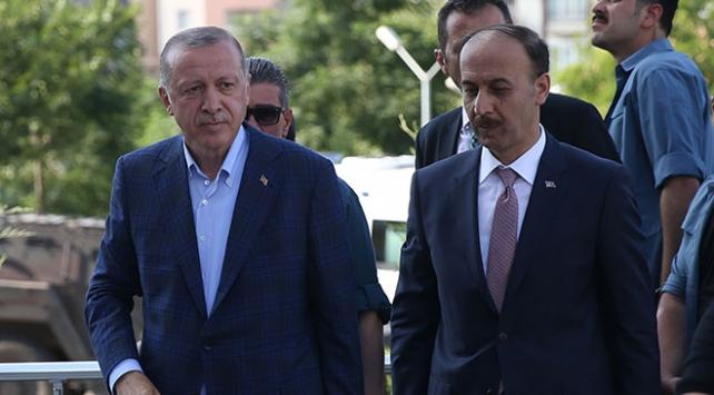 Cumhurbaşkanı Erdoğandan Yıldıza taziye ziyareti