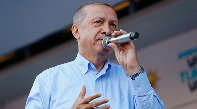 Cumhurbaşkanı Erdoğan: Nerede terör var biz orada tepelerine bineceğiz