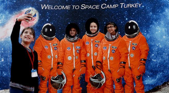 Uzay Kampı Türkiyeden Asteroid temalı program