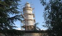 Pisa Kulesi'nden daha eğik olan Ulu Cami minaresinin plastik restorasyonu tamamlandı