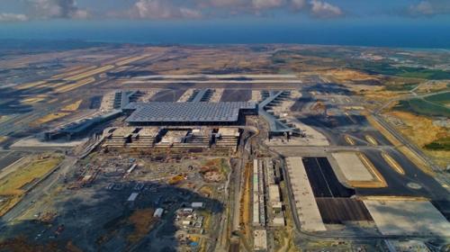 İstanbul Yeni Havalimanına ilk uçak bugün inecek