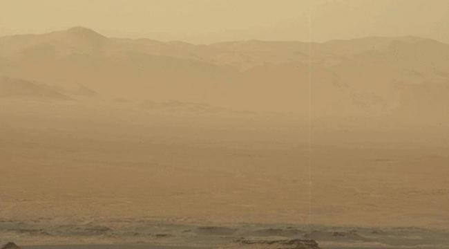 Marsta toz fırtınası tüm gezegeni kapladı
