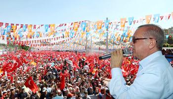 Cumhurbaşkanı Erdoğan 27 günde 35 miting yaptı