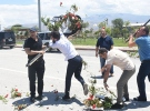Şehit cenazesinde Kılıçdaroğlu'nun çelengi parçalandı