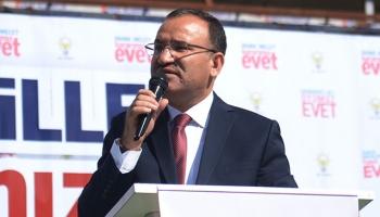Başbakan Yardımcısı Bozdağ: Başarısızlıklarına kılıf uydurmak için algı yaratıyorlar