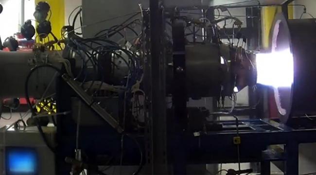 Yerli turbojet motoru başarıyla test edildi