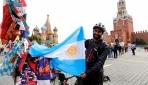 Arjantin taraftarının bisikletle Dünya Kupası yolculuğu