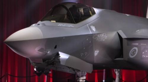 F-35lerin ilk teslimat töreni ABDde gerçekleşti
