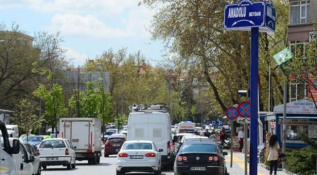 Ankarada bugün bazı yollar trafiğe kapatılacak