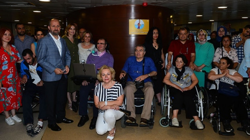 ALS hastalarına 'Boğaz Turu' morali