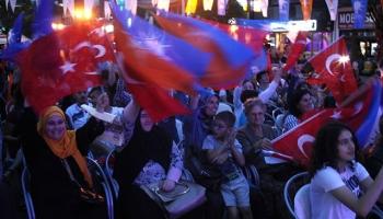 Sancakta Cumhurbaşkanı Erdoğana destek mitingi