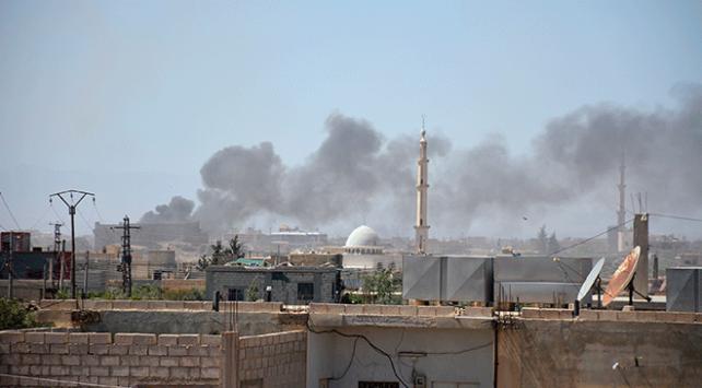 Esed rejimi Deraya bir günde 750 saldırı düzenledi