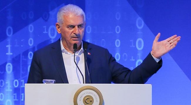 Başbakan Yıldırım: İzmiri bilişim üssü yapmaya karar verdik