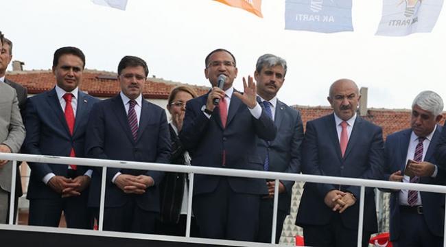 Başbakan Yardımcısı Bozdağ: FETÖnün ne kadar artığı varsa Erdoğan kaybetsin diye kapı kapı geziyor