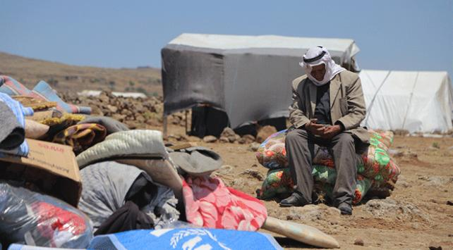 Esed rejiminin Deraya saldırıları sınır hatlarına göç başlattı