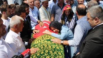 İyi Parti Milletvekili Adayı İbrahim Özyerin cenazesi defnedildi